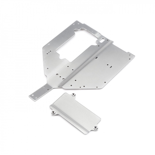 Chassis Plate & Motor Cover Plate: Baja Rey Horizon LOS231010