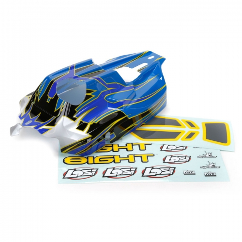 Losi  8IGHT RTR: Karosserie lackiert Horizon LOS240003