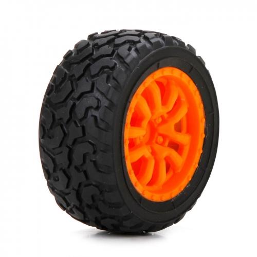 Losi Desert Spec Reifen vorne/hinten, montiert (2 Stk): Mini DT Horizon LOS41005