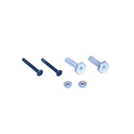 Front Stub Axles & Screws: XX Horizon LOSA1133