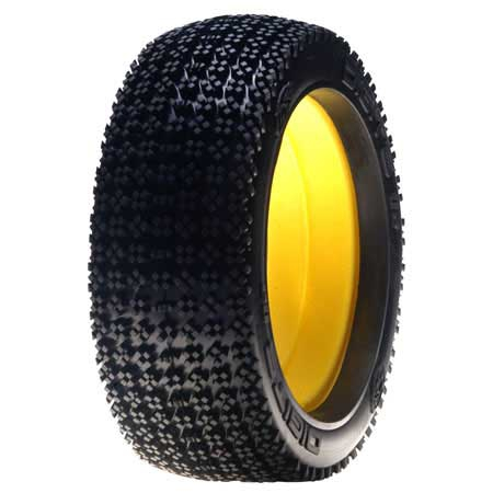 Losi 1/8 Digits Buggy Reifen mit Einlage Horizon LOSA7774R