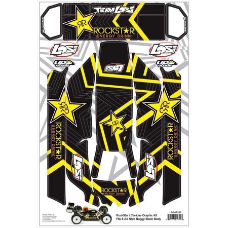 Rockstar/Canidea Graphic Kit: 8IGHT 2.0 Horizon LOSA8202