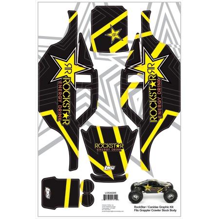 Rockstar/Canidea Graphic Kit: Comp Crawler Horizon LOSA8205
