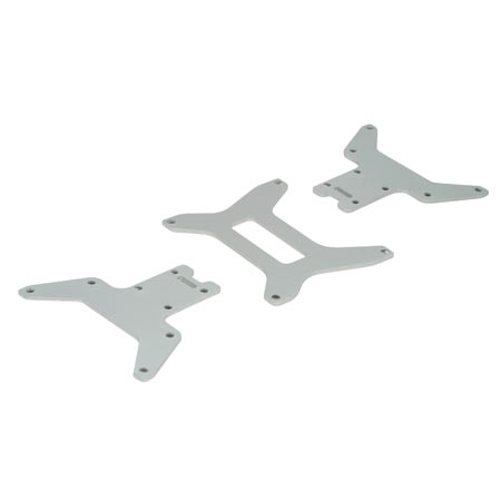 Lower Chassis Plate Set(3): M Horizon LOSB0901