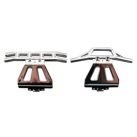 Front/Rear Bumper Set, Chrome Horizon LOSB0911C