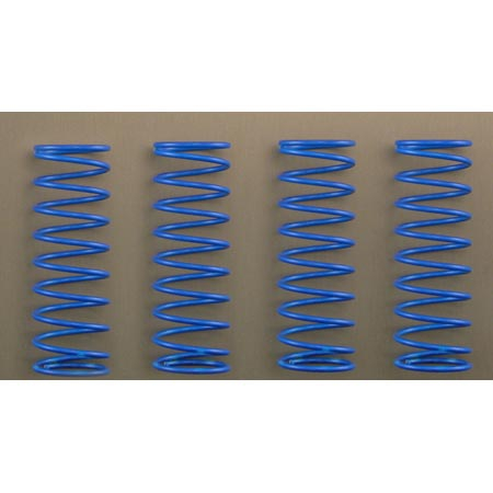 Front/Rear Springs, Firm, Blu Horizon LOSB0956