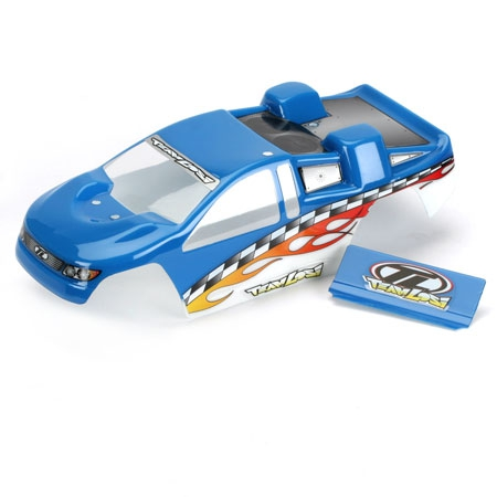 Mini-T Painted Body: Blue Horizon LOSB1002