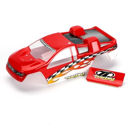 Mini-T Karosserie lackiert: Rot Horizon LOSB1003