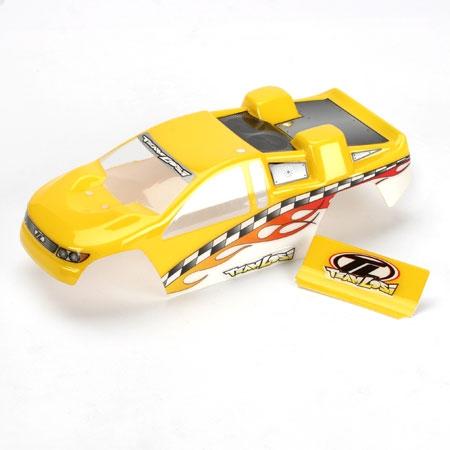 Mini-T Painted Body: Yellow Horizon LOSB1005