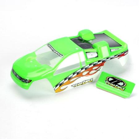 Mini-T Painted Body: Green Horizon LOSB1007
