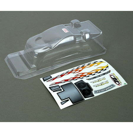 Mini-T Clear Body w/Stickers Horizon LOSB1008