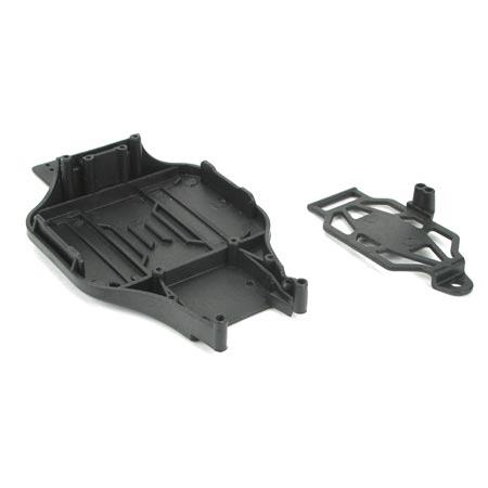 Main Chassis Set: Mini-T, MB Horizon LOSB1014