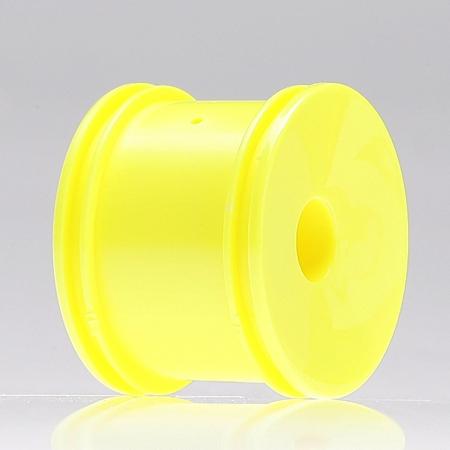 Rear Wheels, Yellow (pr): Min Horizon LOSB1160