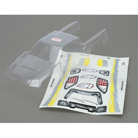 Mini-DT Body, Clear with Sticker Sheet & Masks Horizon LOSB1319