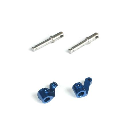 Front Spindle Set, Aluminum: Micro-T/B/DT Horizon LOSB1533