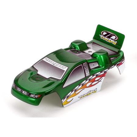 Losi Karosserie grün mit Aufkleber: Micro-T Horizon LOSB1542