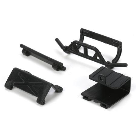 Fr/R Bumpers, Battery Door & Tray: Mc4x4 Horizon LOSB1735