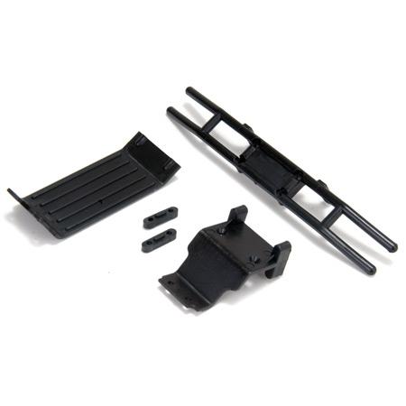 Rear Bumper Assembly & Skid P Horizon LOSB2029