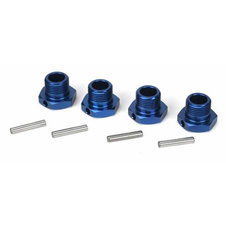 Wheel Hex Set, Blue: 8RTR Horizon LOSB3506