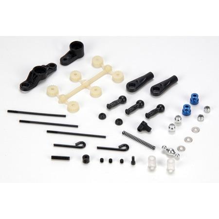 Steering/Throttle/Brake Linkage Set: 10-T Horizon LOSB4210