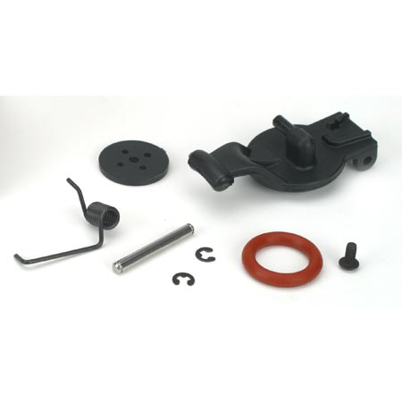 Fuel Tank Lid & Spring: LST, LST2, AFT, MGB Horizon LOSB5003