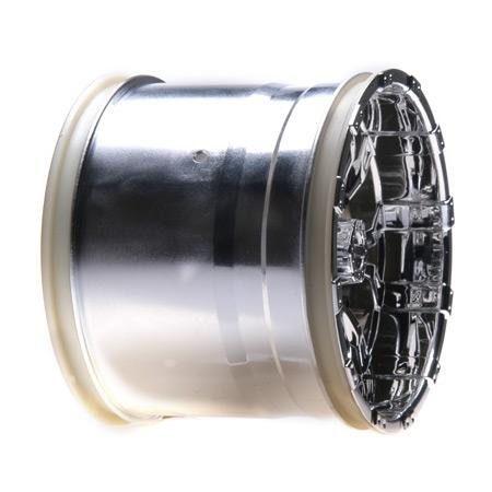 Losi 420 Series Force Wheel mit Cap/ Chrom: Universal(2) Horizon LOSB7012