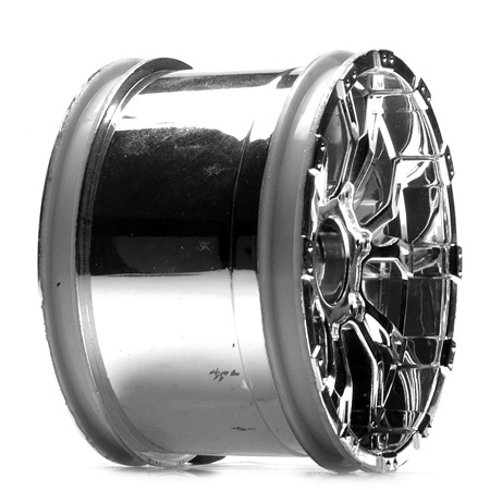 Losi 320S Force Wheel/ Chrome (2) Horizon LOSB7013