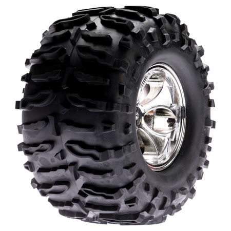 Magneto Wheel with Claw Tires (pr): LST, AFT, MGB Horizon LOSB7401