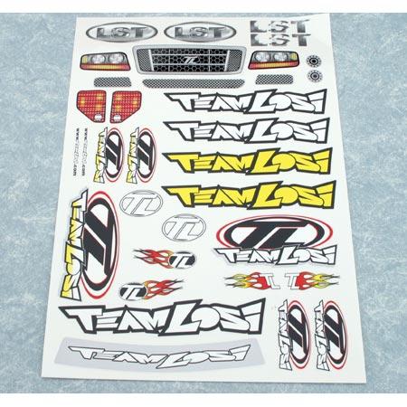 Sticker Sheet: LST,AFT Horizon LOSB8201