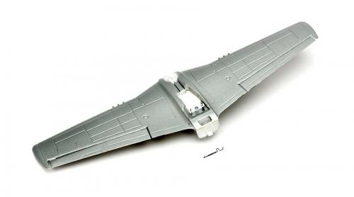 Parkzone Tragfläche: Ultra Micro P-51D Mustang Horizon PKZU2420