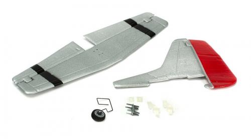 Parkzone Leitwerk komplett m. Zubehör: Ultra Micro P-51D Mustang Horizon PKZU2425
