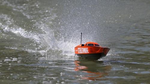 Proboat Stealthwake 23-inch Deep-V Brushed: RTR INT Horizon PRB08015I