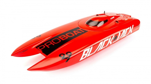 Proboat Rumpf mit Kabinendach (Orange): BJ29 Horizon PRB4085