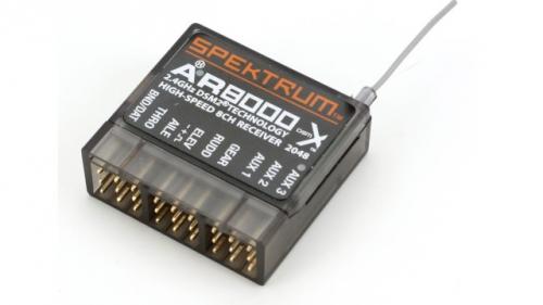 Spektrum AR8000 8-Kanal DSMX-Empfänger Spektrum SPMAR8000
