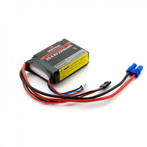 Spektrum 2200mAh 2S 6,6V Li-Fe Empfängerakku Spektrum SPMB2200LFRX