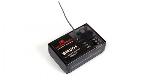 Spektrum SR201 2 Kanal DSM Sport Surface Empfänger - spritzwasse