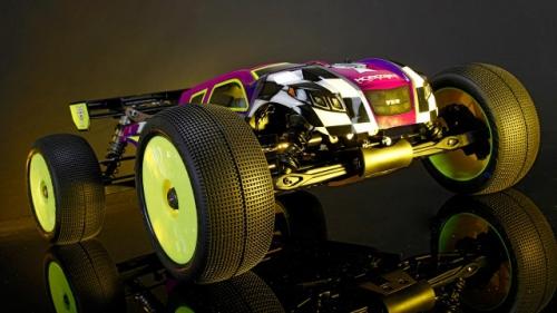 8IGHT-T 4.0 Race Kit: 1/8 4WD Nitro Truggy Horizon TLR04005
