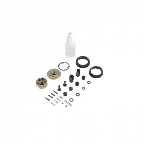 Complete Gear Diff, Front/Rear: 22-4 2.0 Horizon TLR232047