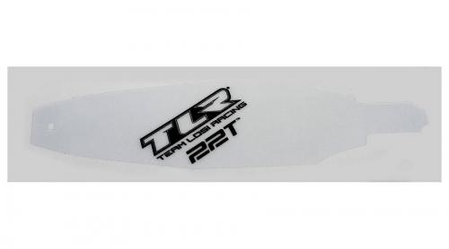 TLR 22T Chassis Schutzfolie vorgeschnitten (2) Horizon TLR331001