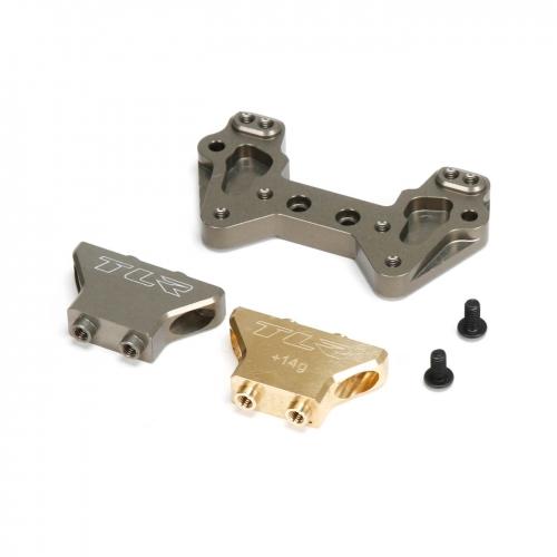 TLR Sturzblock Messing / Alu: 22/2.0/T/SCT Horizon TLR334019