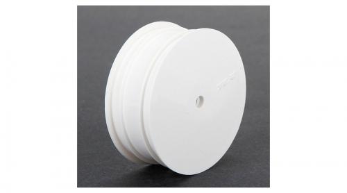 TLR Felge vorne 12 mm, weiß (2 Stk): 22 3.0 Horizon TLR43009