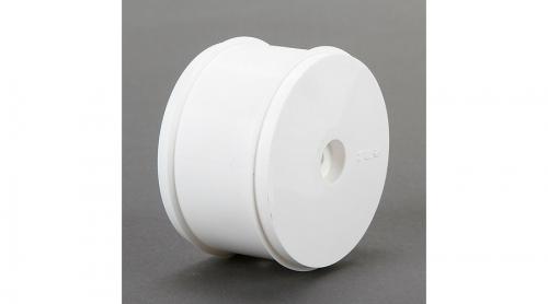 TLR Felge hinten 61 mm, weiß (2 Stk): 22-4 Horizon TLR43015