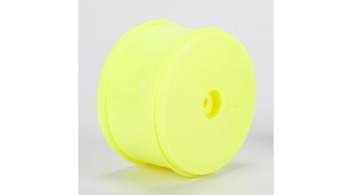 TLR Felge hinten 61 mm, gelb (2 Stk): 22-4 Horizon TLR43016