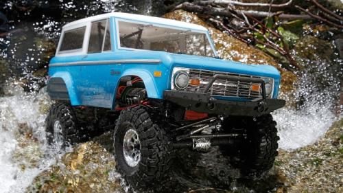 Vaterra 1972 Ford Bronco 4x4 Ascender 1:10 RTR INT Horizon VTR03031I
