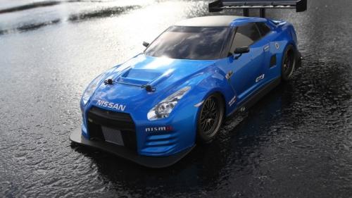 Vaterra 2012 Nissan GTR GT3 V100-C 1/10th RTR Horizon VTR03065I