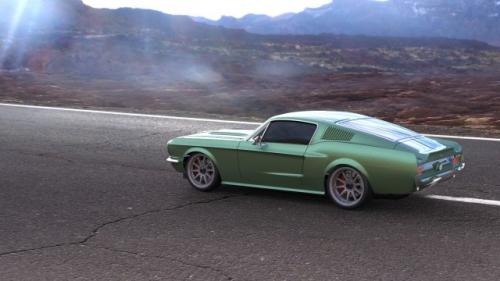 Vaterra 1967 Ford Mustang V100-S 1/10 4wd RTR Horizon VTR03077I