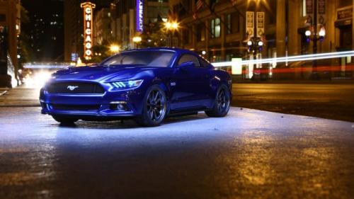 Vaterra 2015 Ford Mustang GT V100-S 1/10th 4wd RTR Horizon VTR03084I