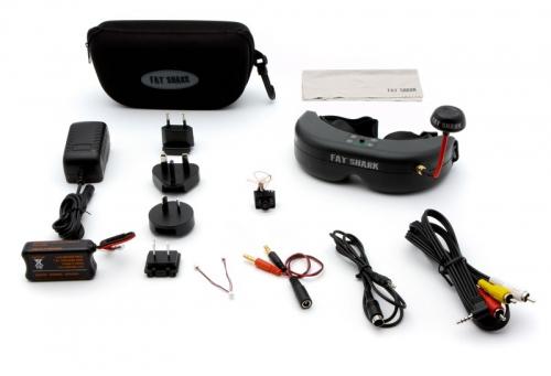 Spektrum Ultra Micro FPV-System mit Headset Spektrum SPMVS1100