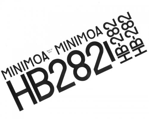 Schiebebilder Minimoa  1936 Krick 10131