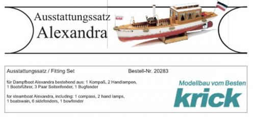 Alexandra Ausstattungssatz Krick 20283